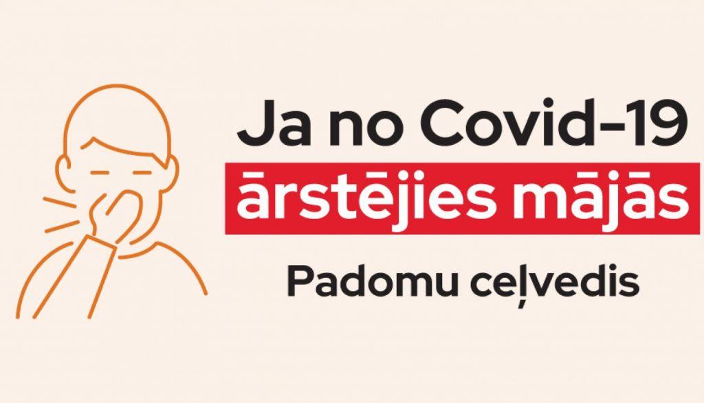 Ja no Covid-19 ārstējies mājās .Padomu ceļvedis